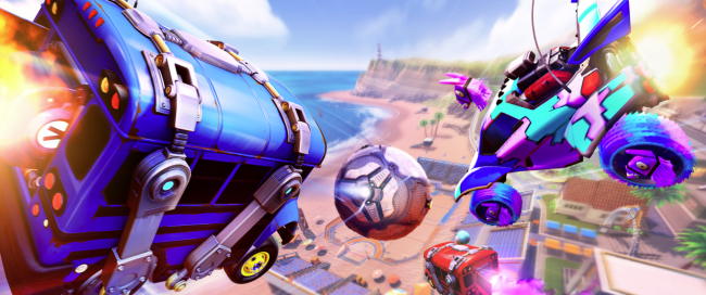 Fortnite inntar Rocket League i spesiell event